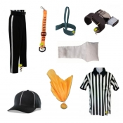 Football Referee Gear Uniforms Clothing Shirts Apparel