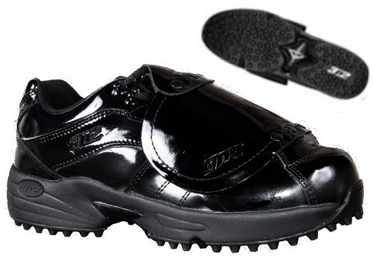 Low Cut Patent Leather Plate Shoes