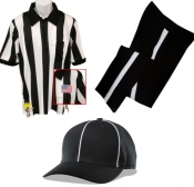 Football Referee Shirt, Cap And Pants Package