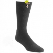 Black Over The Calf Socks