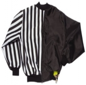 "Lined Reversible Jacket W/ 1"" Stripes"