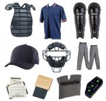 Baseball Equipment & Clothing Package