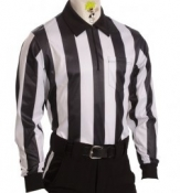 "Long Sleeve 2 1/4"" Striped Referee Shirt"