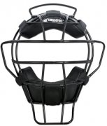 Black Umpire Mask