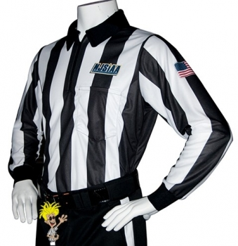 L.S. Cliff Keen Football & Lacrosse Referee Shirt