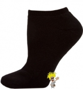 Women's Black Low Cut Socks