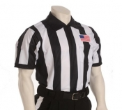 "Football Referee Sublimated Shirt 2 1/4"" Stripe"