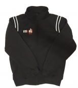 USABL Full Zip Black Umpire Jacket