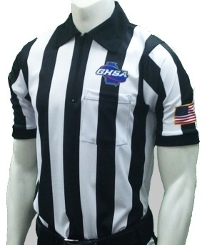 GHSA Football Referee Shirt