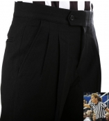 Basketball Referee Pleated Women's Pants