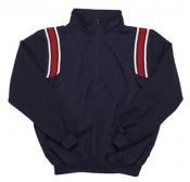 Baseball Umpire Half-Zip Jacket