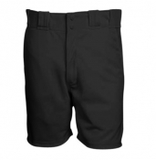 Black Lacrosse Referee Shorts