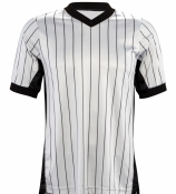 "Baketball Referee Jersey (3"" Black Side Panels)"