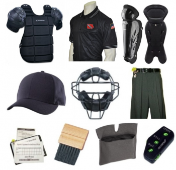 IHSAA Umpire Equipment & Clothing Package