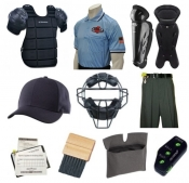 MHSAA Umpire Equipment & Clothing Package
