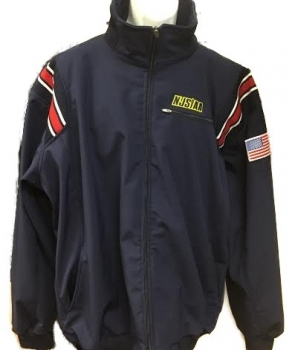NJSIAA Full Zip Baseball Umpire Jacket