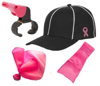 Pink Football Referee Package