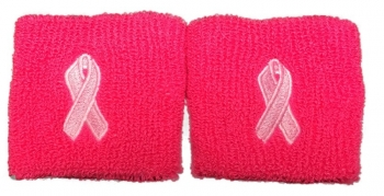 "Hot Pink 3"" Wristbands"