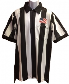 "Short Sleeve 2 1/4"" Striped Sublimated Shirt"