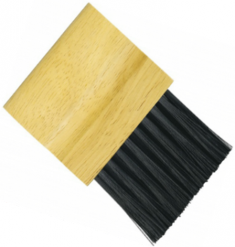 Wooden Handled Plate Brush