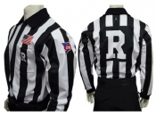 """CFO"" Fleece-Lined Cold Weather Football Referee Shirts"