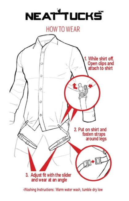 Neat Tucks How To Wear Video