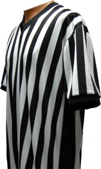 "Basketball Referee Jersey (3"" Black Side Panels)"