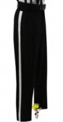Black Referee Warm Weather Pants