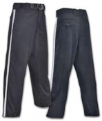 Black Football Referee Pants