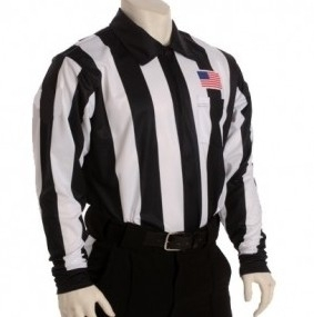 """Cold Weather Shirt With 2 1/4"""" Stripes"""