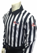 IHSA Long Sleeve Football Referee Shirt