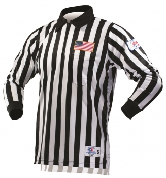 Long Sleeve US Lacrosse Referee Shirts