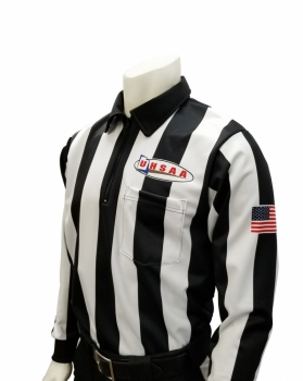 UHSAA Long Sleeve Cold Weather Football Referee Shirt