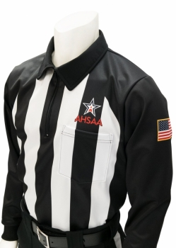AHSAA Foul Weather Football Referee Shirt