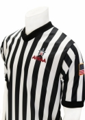 "AHSAA ""Body Flex"" V-Neck Basketball Referee Shirt"