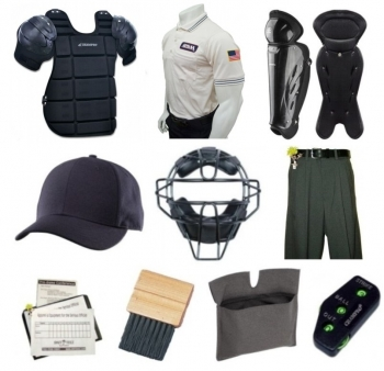 AHSAA Umpire Equipment & Clothing Package