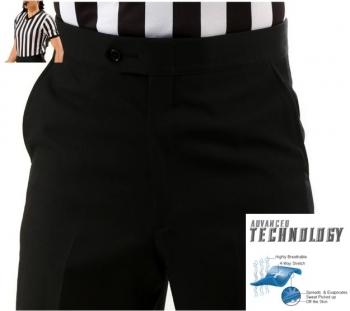 Basketball Referee (Adv. Technology) Flat Front Women's Pants