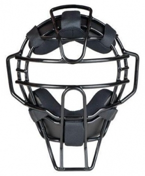 Black Ultra Lightweight Umpire Mask