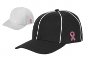 Football Referee Cap W/ Pink Ribbon