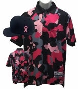 Cap & Pink Camo Umpire Shirt Combo Package