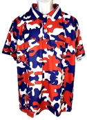 "Red, White & Blue ""All American"" Camo Umpire Shirt"
