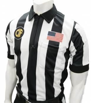 CIF Short Sleeve Football Referee Shirt