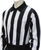 "Long Sleeve 2"" Striped Referee Shirt"