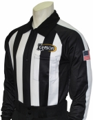 LHSOA Long Sleeve Football Referee Shirt
