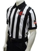 MHSAA Short Sleeve Football Referee Shirt