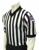 "Smitty MSHSAA ""Body Flex"" V-Neck Basketball Referee Shirt"