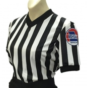 "Smitty MSHSAA Women's ""Body Flex"" V-Neck Basketball Referee Shirt"