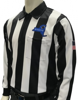 NYSACFO Long Sleeve Football Referee Shirt