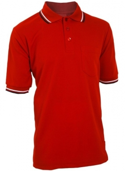 Baseball Red Umpire Shirts
