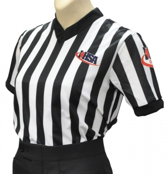 Women's IHSA V-Neck Basketball Referee Shirt
